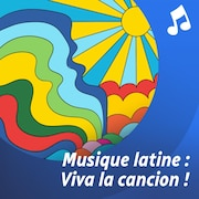 Une femme joue de la guitare dans la rue.