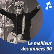 Un discman avec des écouteurs.