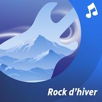 Un musicien joue de la guitare électrique.