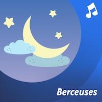 Dessin : enfant couché dans un lit avec des peluches à ses côtés.
