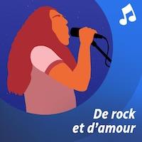 La silhouette du chanteur Gerry Boulet, en dessin.
